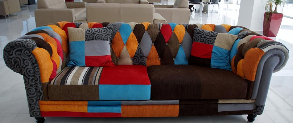 Colored Upholstery
