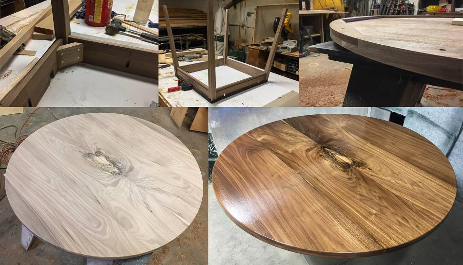 Custom Walnut Table